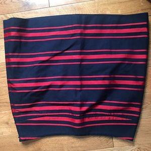 Petite Loft Mini Skirt